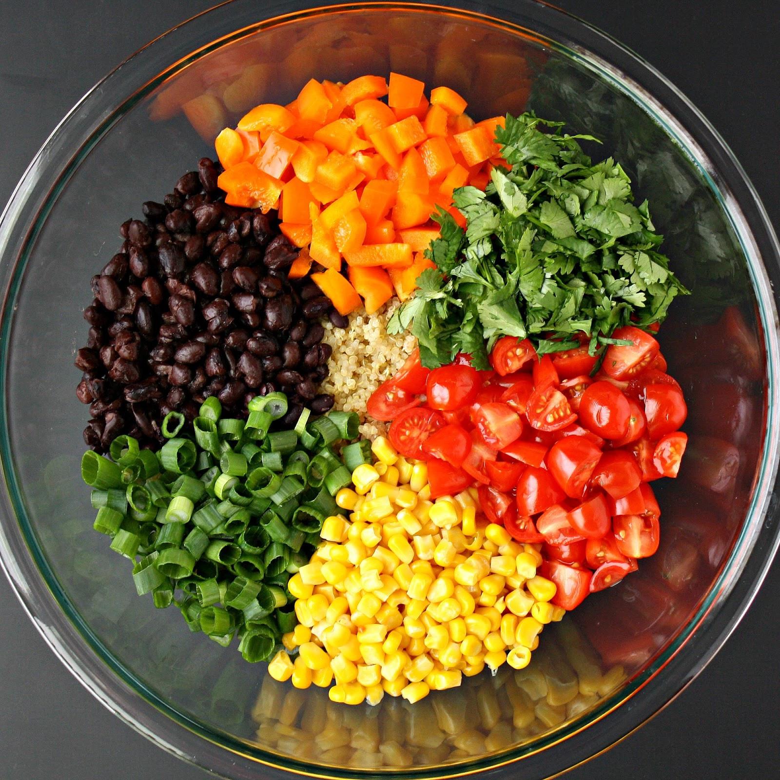 Mexican Quinoa Salad  The Garden Grazer Mexican Quinoa Salad