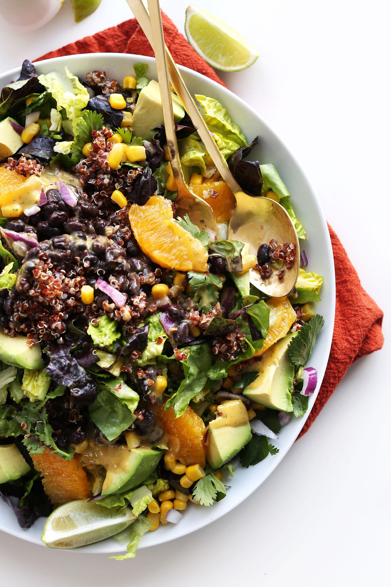 Mexican Quinoa Salad  Mexican Quinoa Salad