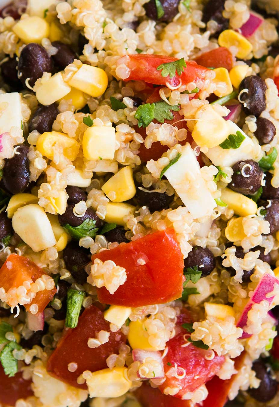 Mexican Quinoa Salad  Mexican Quinoa Salad with Black Beans Corn and Tomatoes
