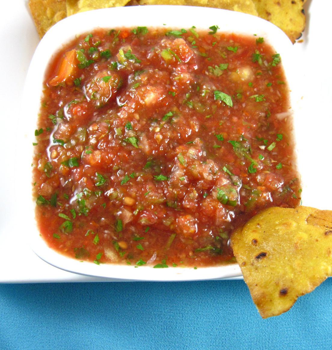 Mexican Restaurant Salsa Recipe  Homemade Salsa Recipe Mexican Restaurant Style