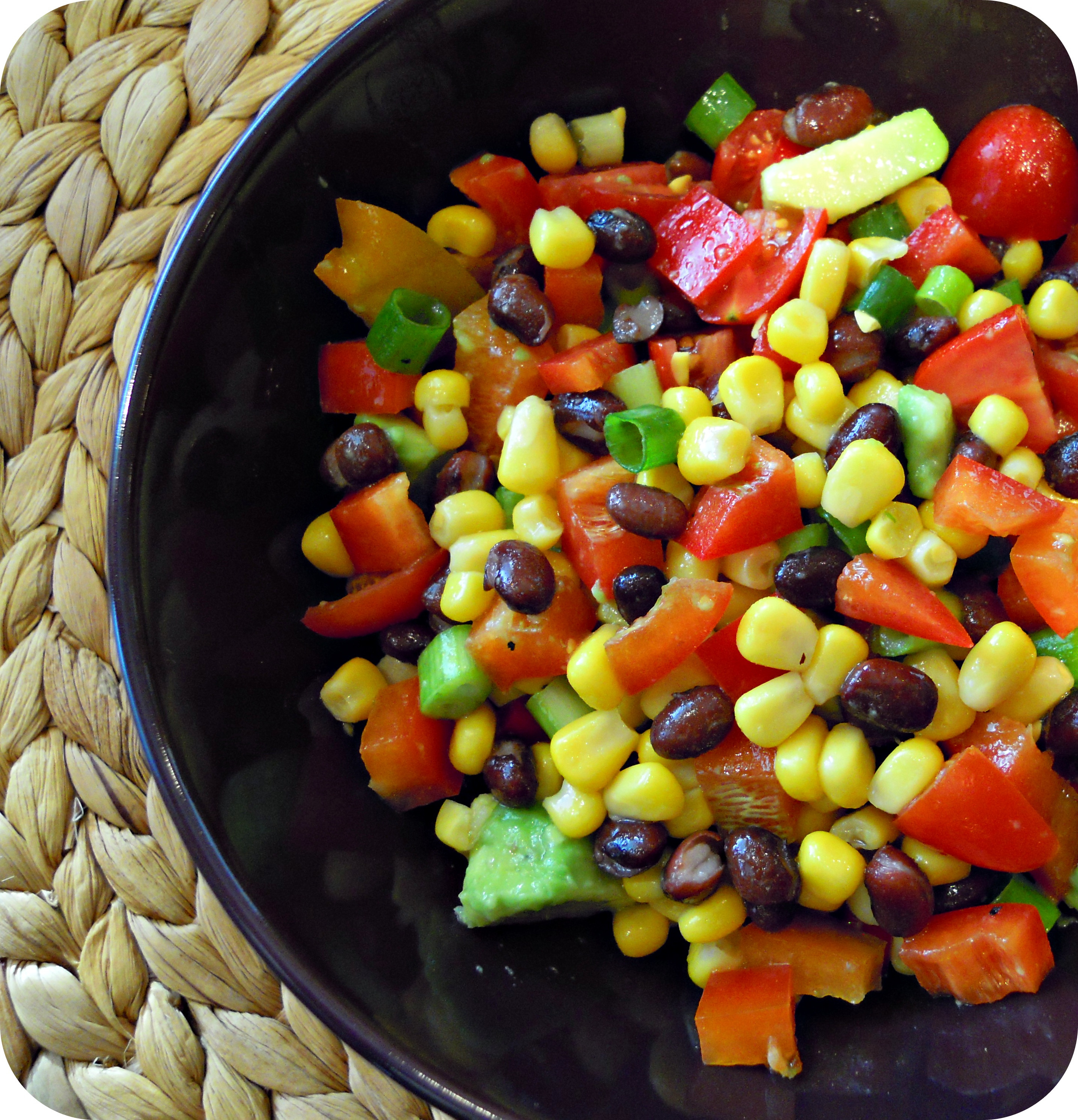 Mexican Salad Recipes  Mexican Bean Salad Berry Nourished