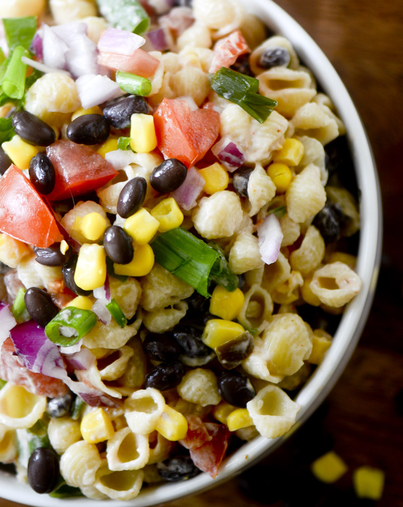 Mexican Salad Recipes  Mexican Macaroni Salad – Recipe Diaries