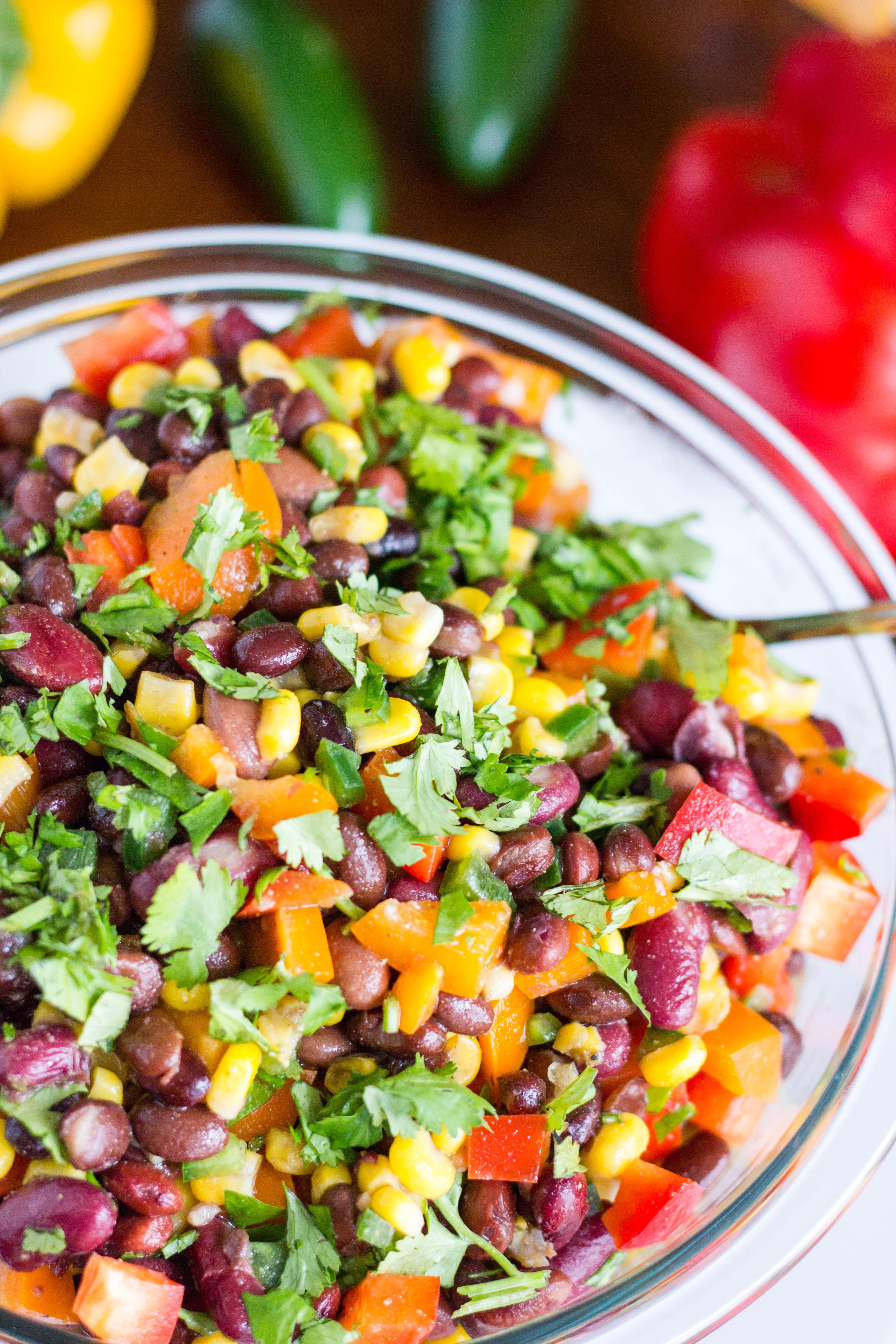 Mexican Salad Recipes  mexican bean salad