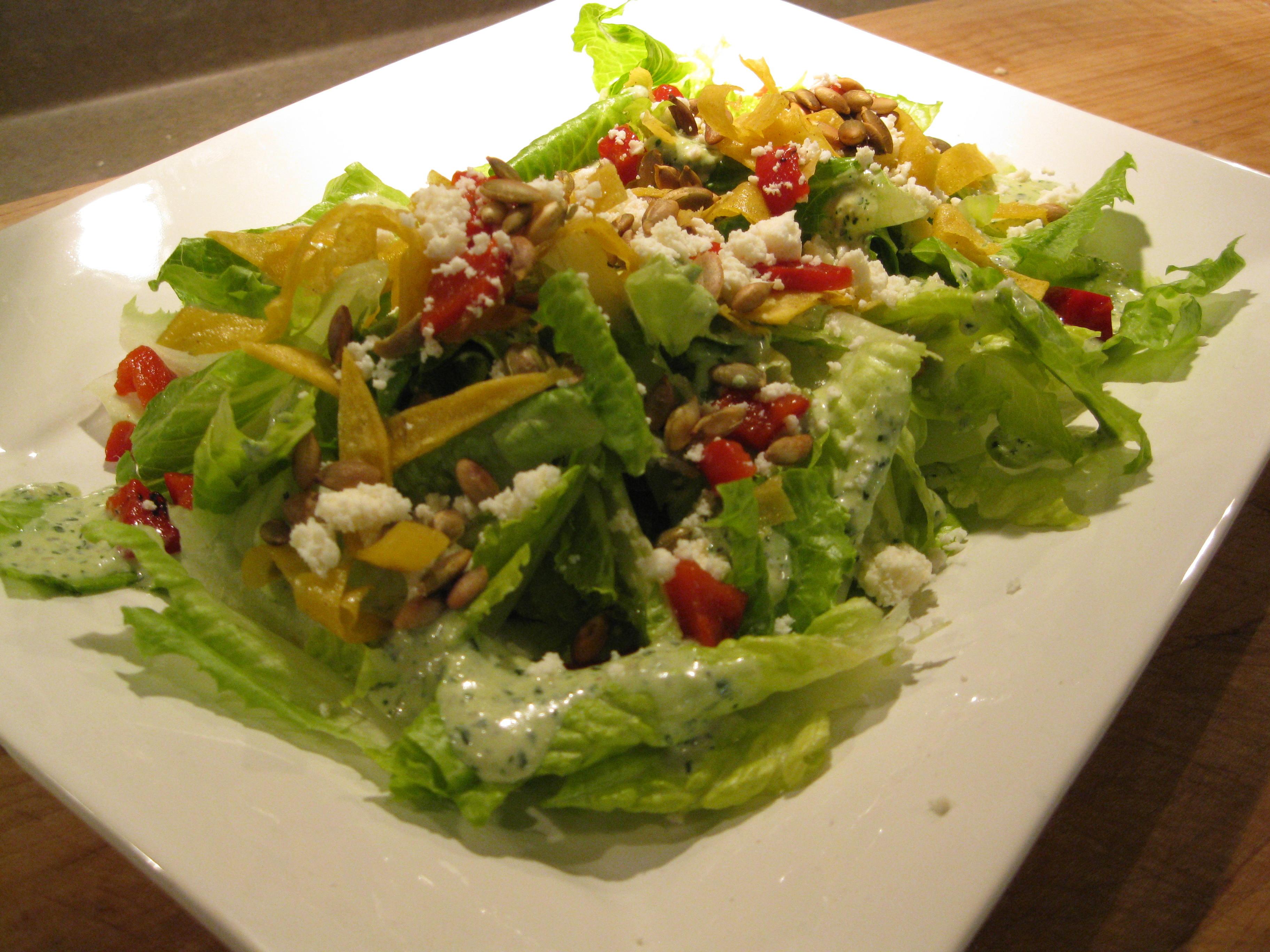 Mexican Salad Recipes  Christmas Recipe Mexican Caesar Salad