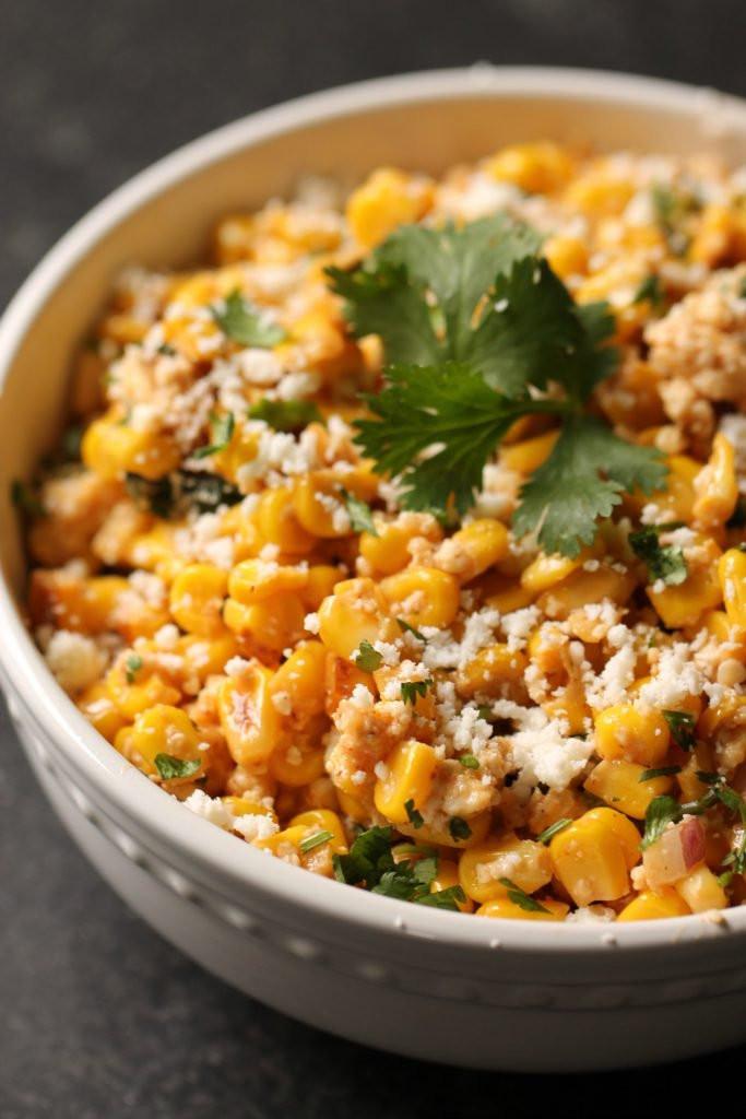 Mexican Street Corn Salad  Mexican Street Corn Salad Recipe