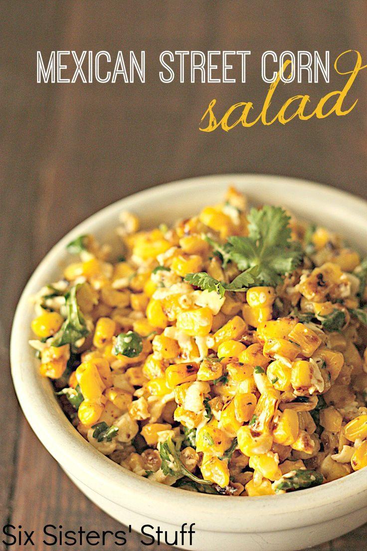 Mexican Street Corn Salad  Mexican Street Corn Salad Recipe – I Cook Different