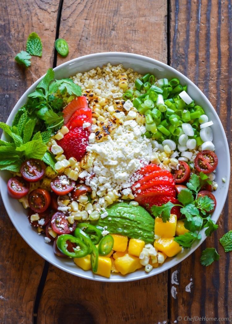 Mexican Street Corn Salad  Mexican Street Corn Quinoa Salad Recipe