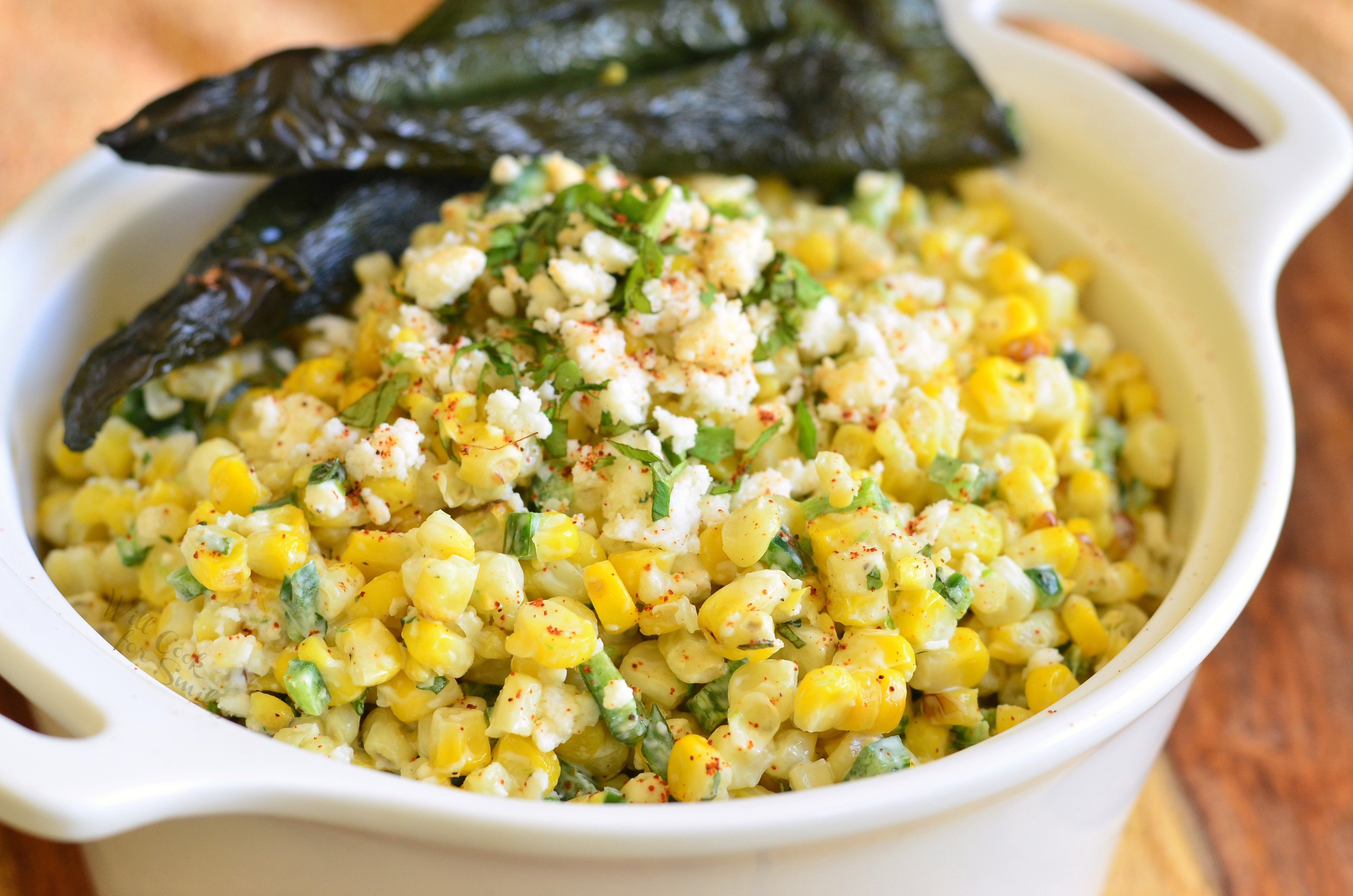 Mexican Street Corn Salad  Mexican Street Corn Salad Will Cook For Smiles