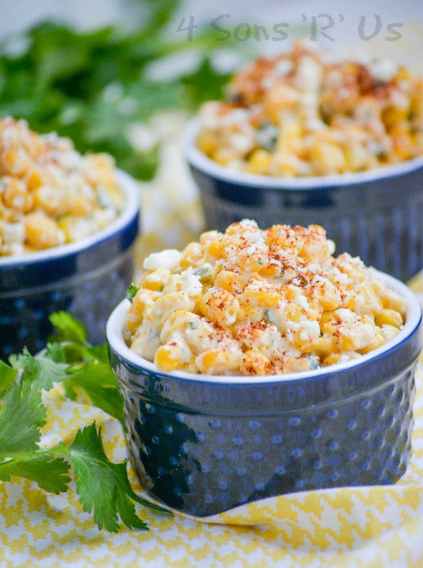Mexican Street Corn Salad  Mexican Street Corn Salad 4 Sons R Us
