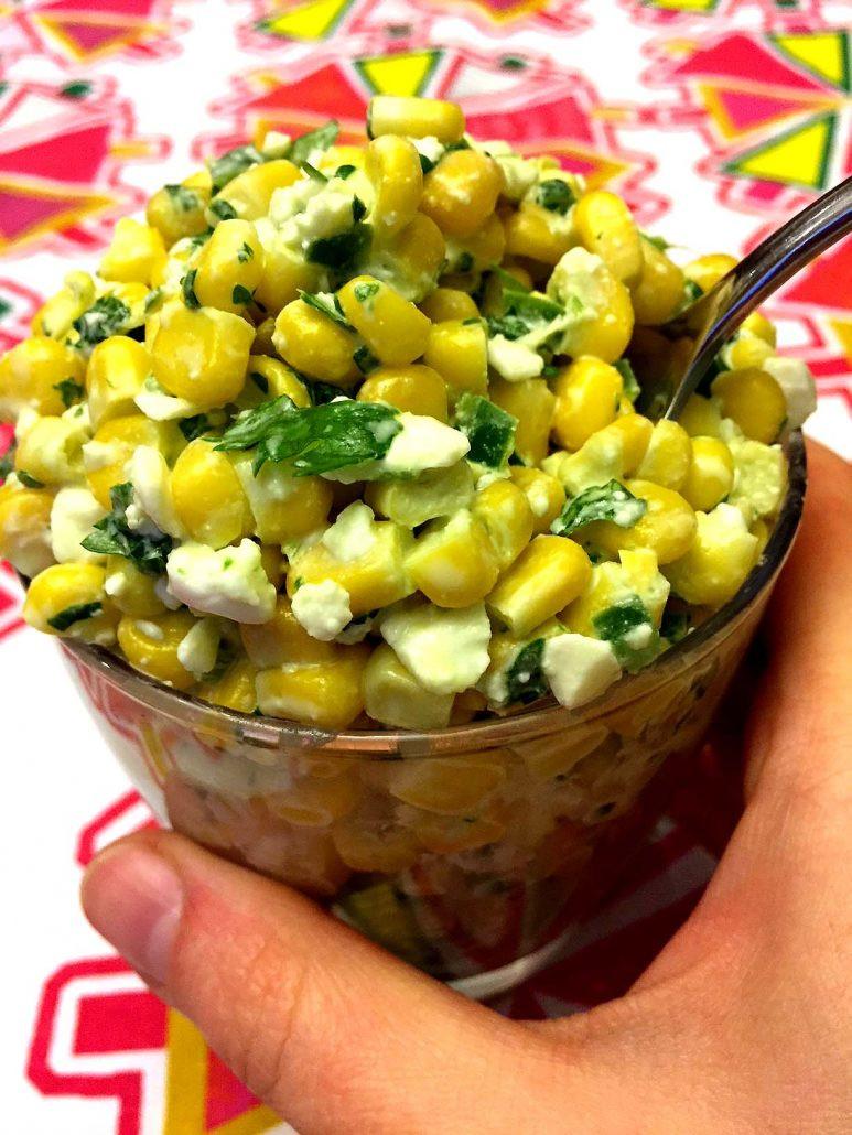 Mexican Street Corn Salad  Mexican Street Corn Salad Recipe – Melanie Cooks