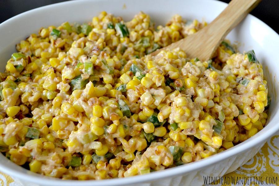Mexican Street Corn Salad  Smoky & Spicy Mexican Street Corn Salad