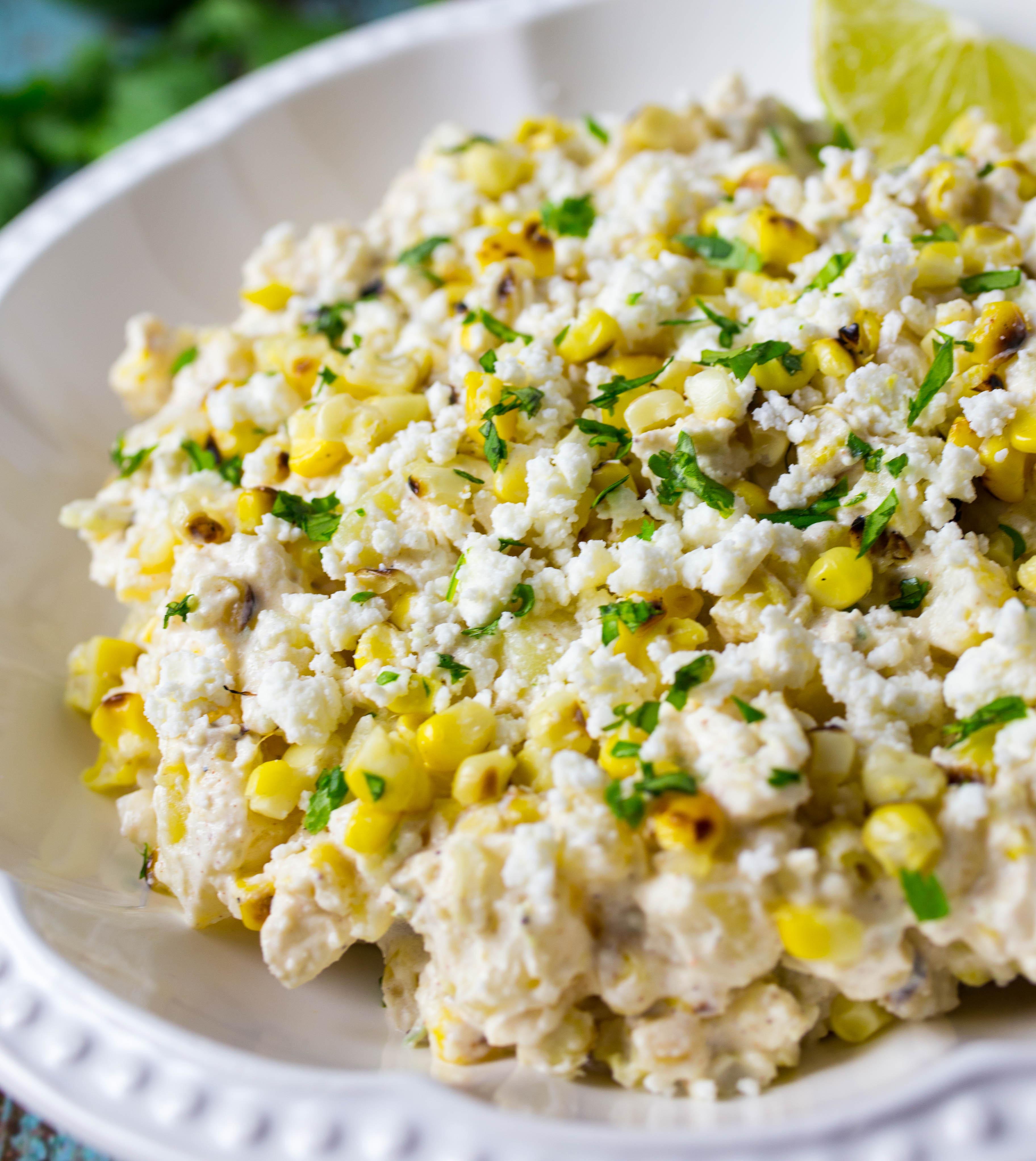 Mexican Street Corn Salad  Mexican Street Corn Potato Salad