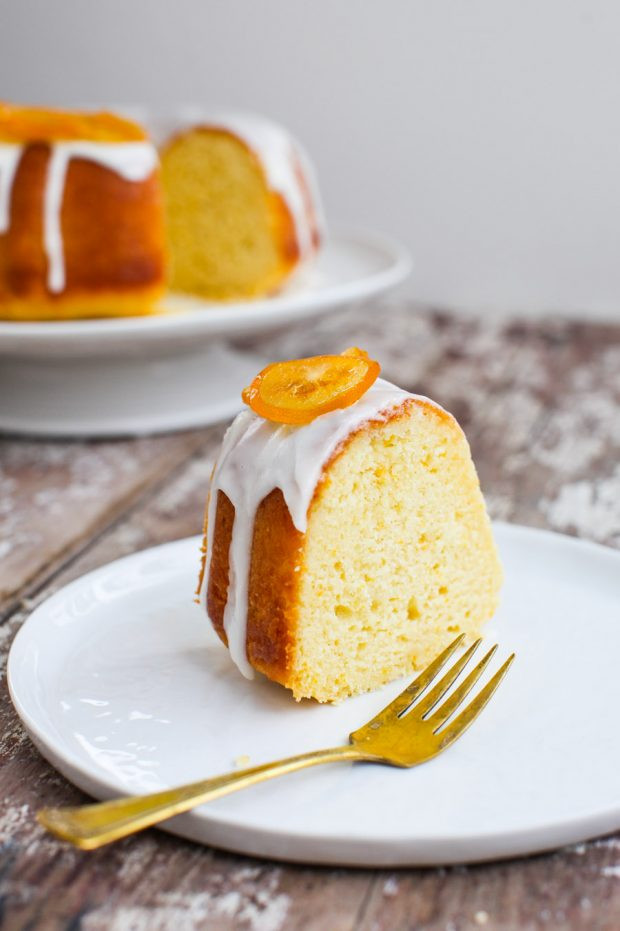 Meyer Lemon Cake  Meyer Lemon Bundt Cake with Can d Lemons