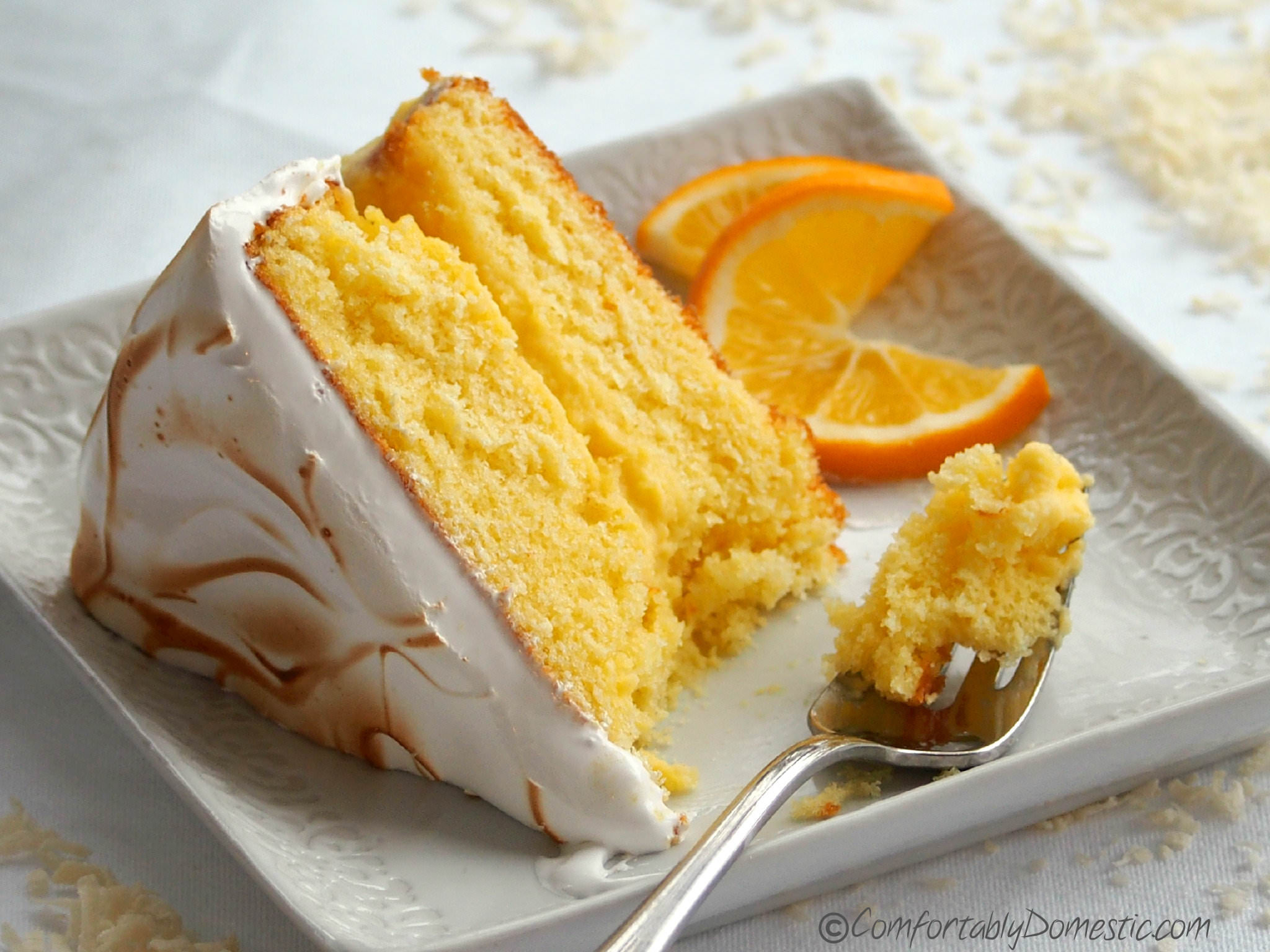 Meyer Lemon Cake  More Than the Adversity That Makes it Memorable Coconut