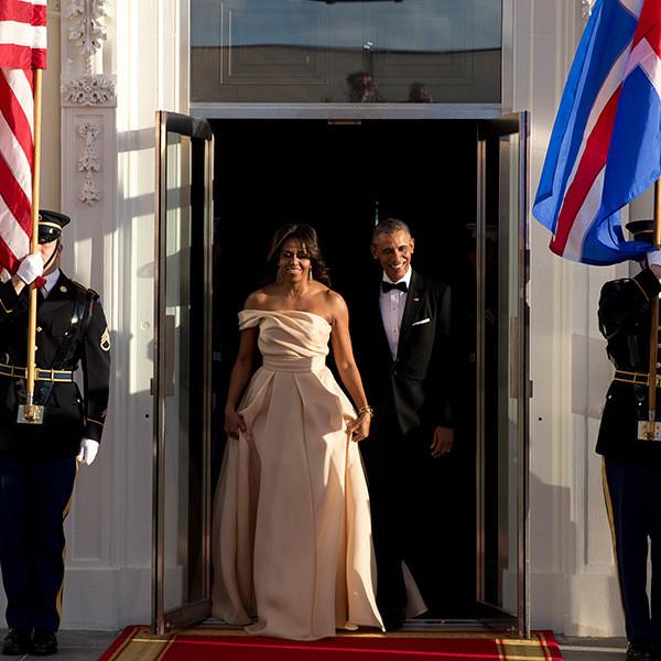 Michelle Obama State Dinner 2016 Dress  [PHOTOS] Michelle Obama's Birthday Pics — Celebrate 50th