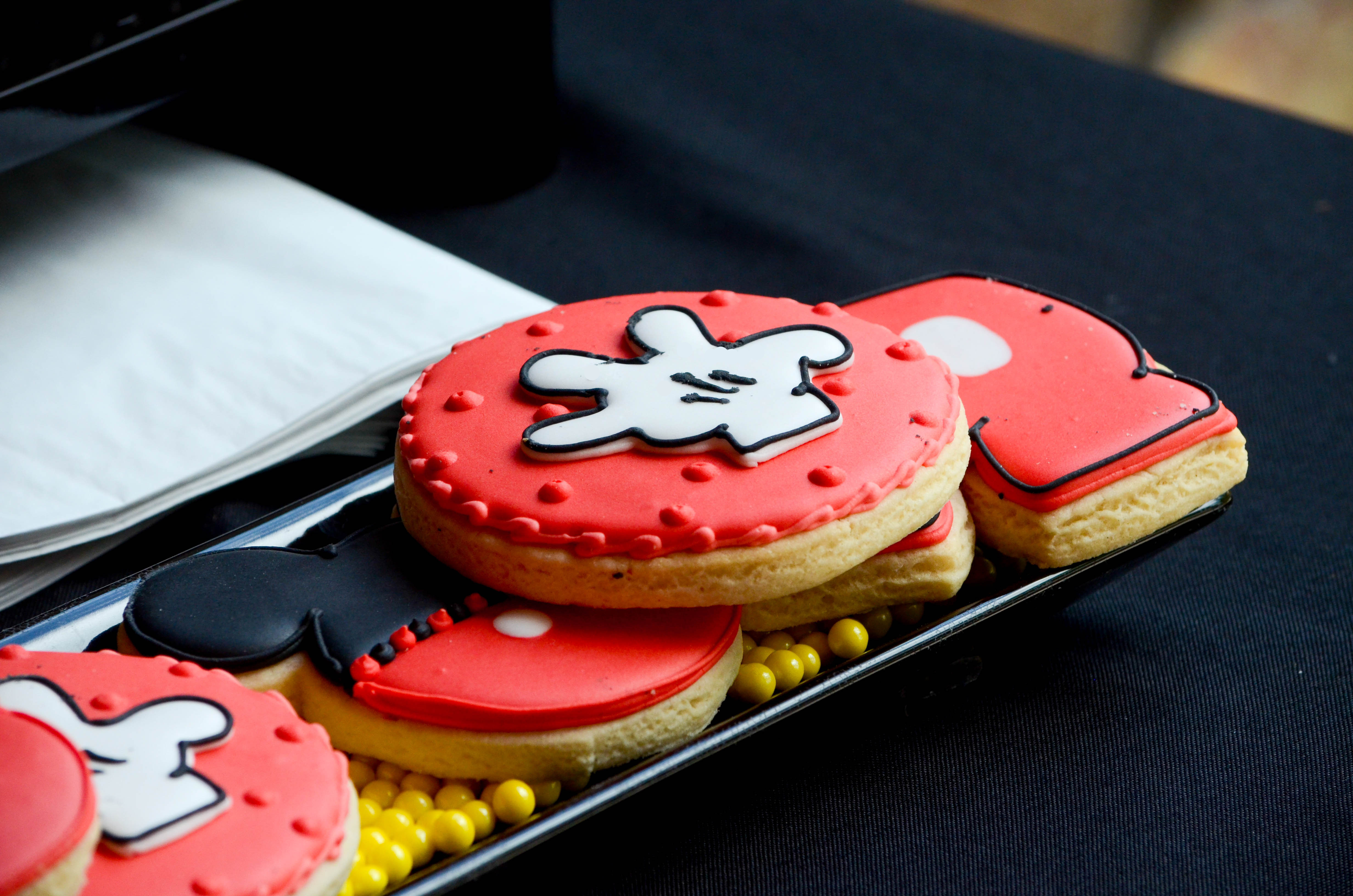 Mickey Mouse Dessert  Mickey Mouse First Birthday Party Inspiration Candy