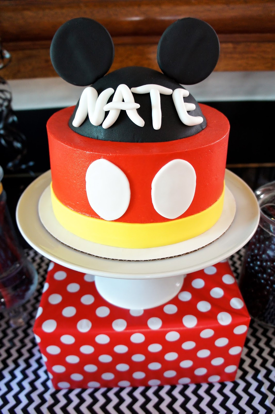 Mickey Mouse Dessert  Half Baked Co MICKEY MOUSE DESSERT TABLE