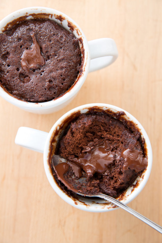 Microwave Cake In A Mug  Microwaveable Chocolate Cake Recipe