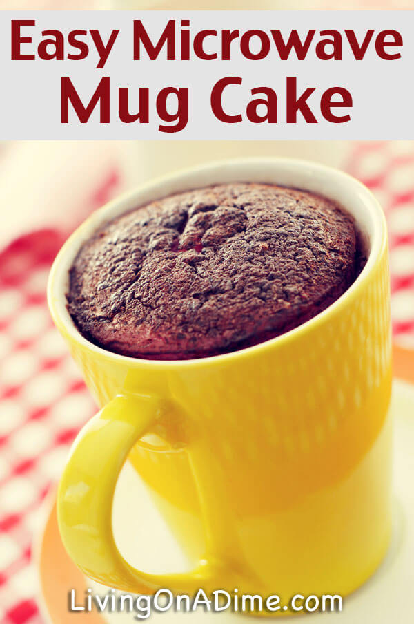 Microwave Cake Recipes  Homemade Warm Delights Easy Microwave Mug Cake Recipe