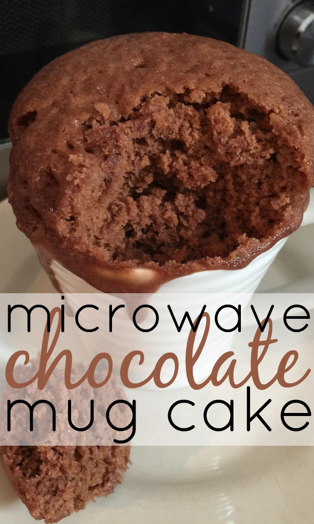 Microwave Cake Recipes  Microwave Chocolate Cake In A Mug Recipe — Dishmaps