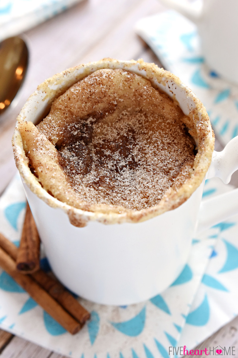 Microwave Cake Recipes  Five Favorite Mug Cakes in Minutes – Honest Cooking