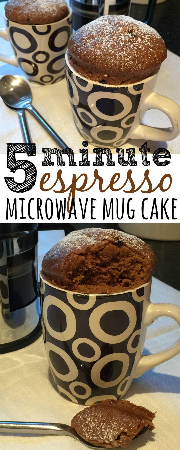 Microwave Mug Cake  Espresso Microwave Mug Cake Recipe Skint Dad