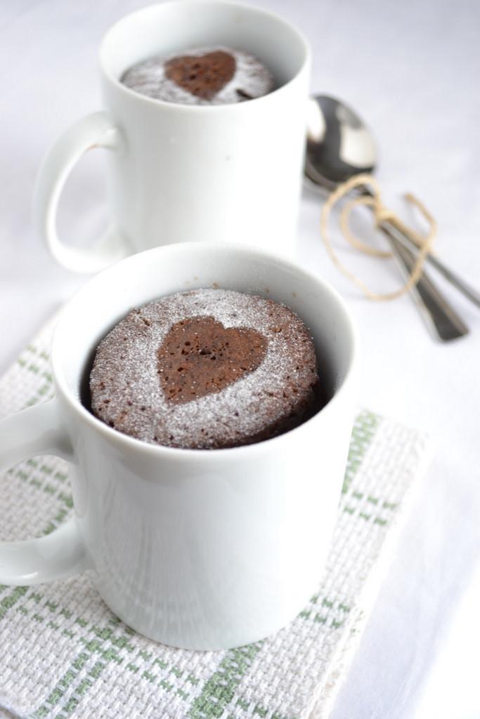 Microwave Mug Cake  Microwave Chocolate Cake In A Mug Recipe — Dishmaps