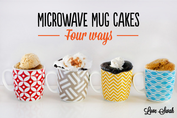 Microwave Mug Cake  Microwave Mug Cakes 1 Dark Chocolate Love Swah