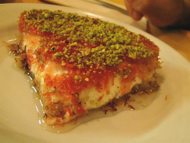 Middle Eastern Desserts Recipe  Knafeh Recipe for the Most Fabulous Middle Eastern