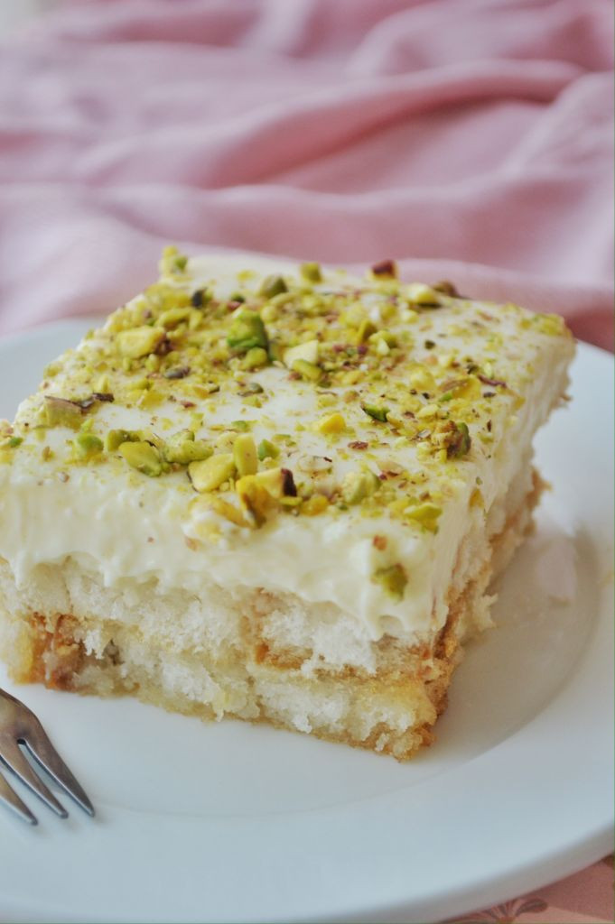 Middle Eastern Desserts Recipe  Aish el Saraya Middle Eastern Dessert Savory&SweetFood