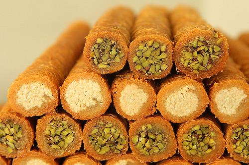 Middle Eastern Desserts Recipe  Al Bohsali Middle Eastern Pastries David Lebovitz
