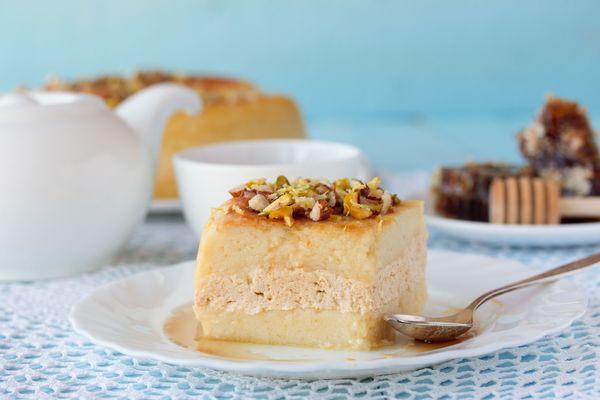 Middle Eastern Desserts Recipe  Middle Eastern Kodafa Honey Cake – 12 Tomatoes