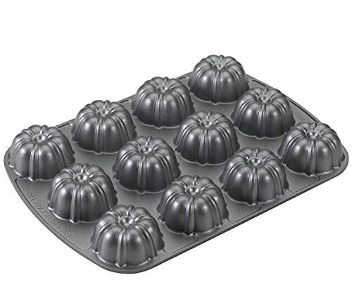 Mini Bundt Cake Pan  Nordicware Plat Bundt Mini Muffin Pan