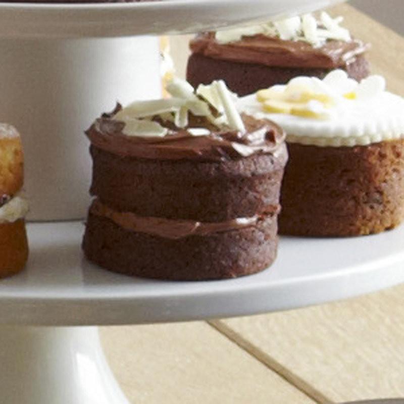 Mini Cake Recipe  Mini Chocolate Sandwich Cakes Cake Recipes