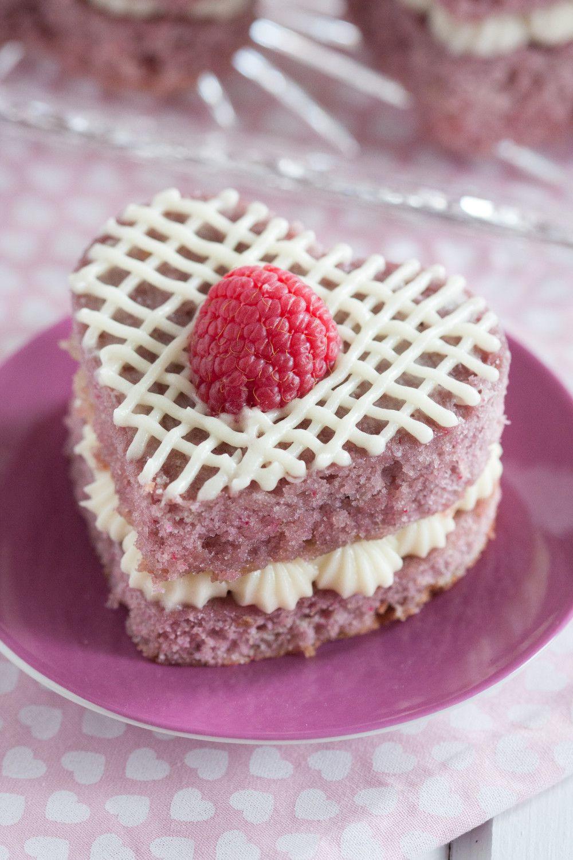 Mini Cake Recipe  Fresh Raspberry Mini Cakes Goo Godmother