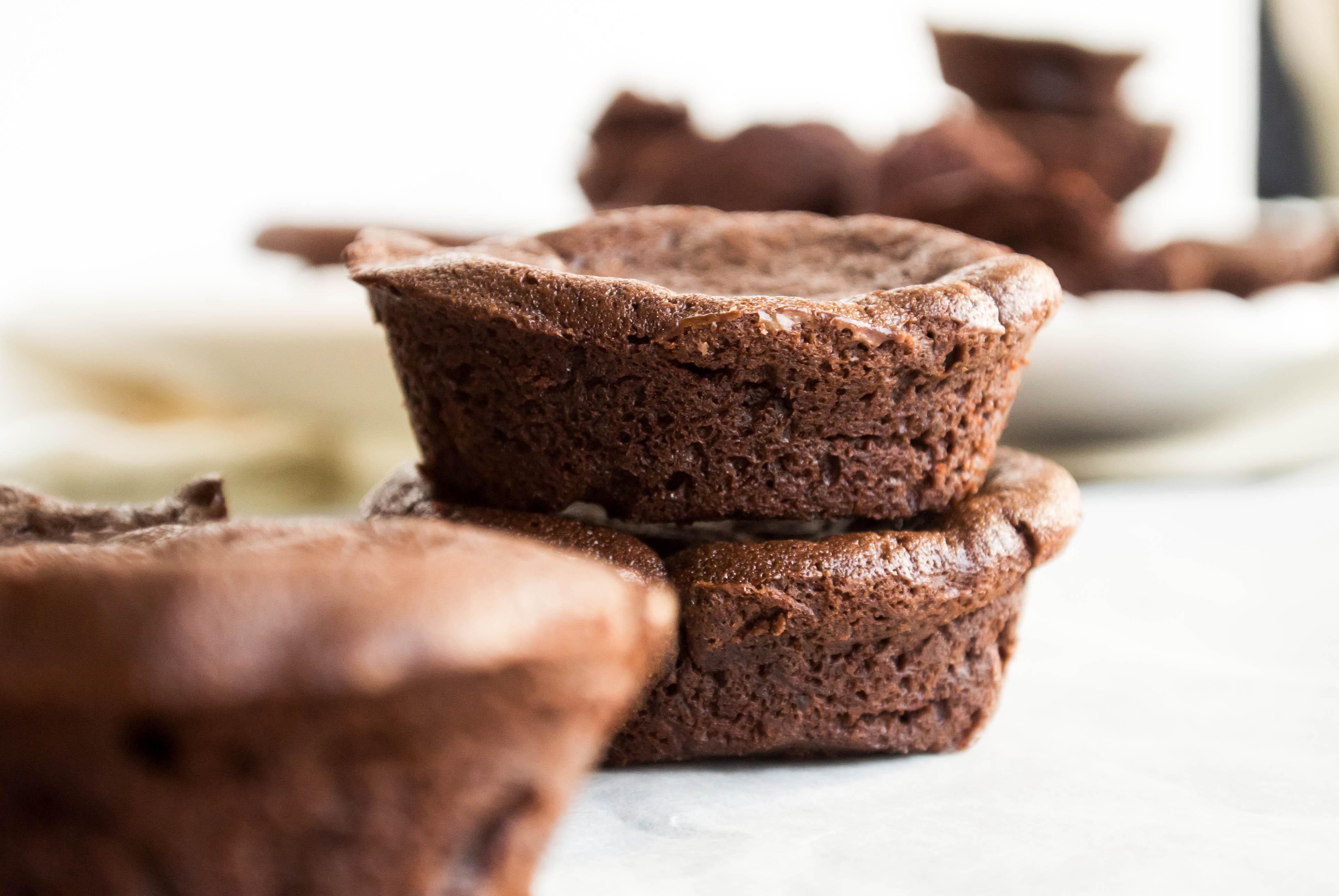 Mini Chocolate Cake  Mini Flourless Chocolate Cakes