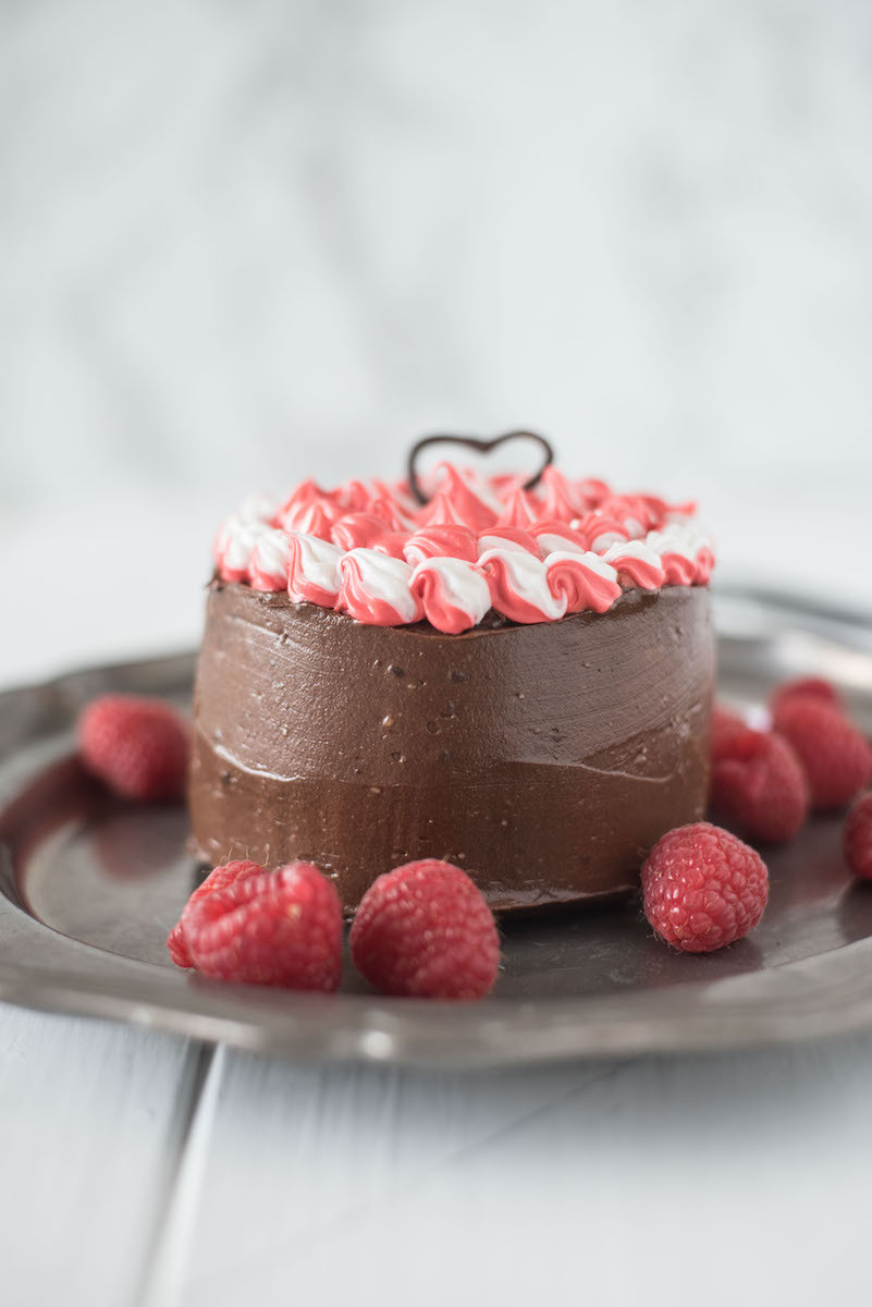 Mini Chocolate Cake  Mini Chocolate Cake for Two