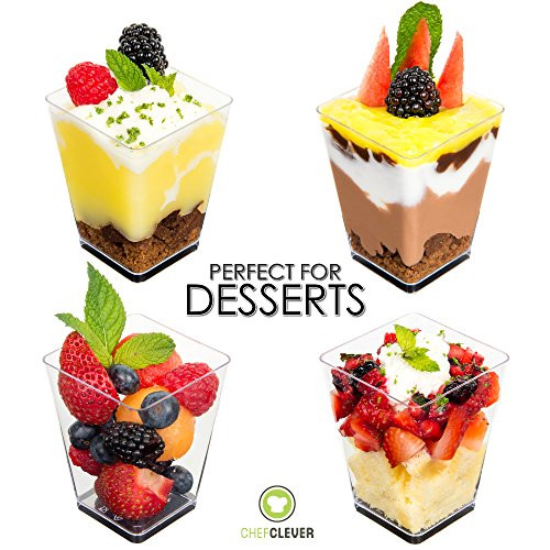 Mini Dessert Cup Recipes  Mini Dessert Cups Appetizer Bowls with Spoons and Recipe