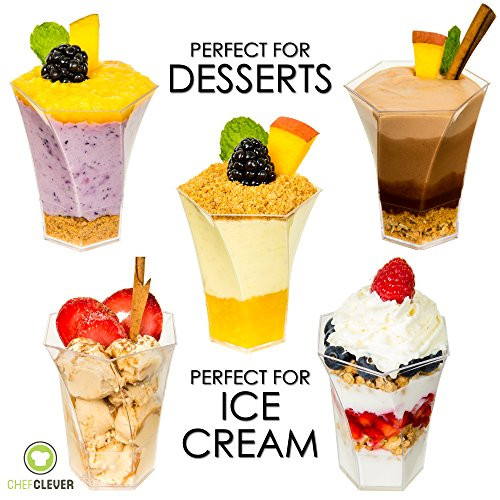 Mini Dessert Cup Recipes  Mini Dessert Cups Sundae Dishes Ice Cream Bowls with
