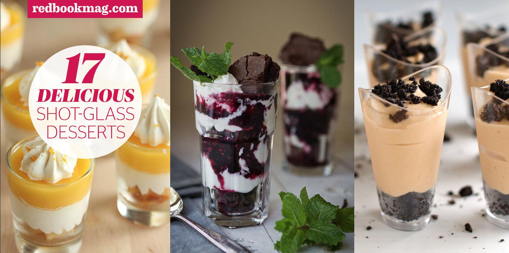 Mini Dessert Glasses  Shot Glass Desserts Mini Dessert Recipes
