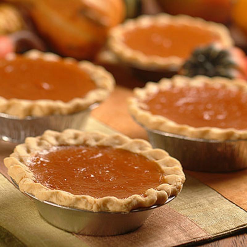 Mini Pumpkin Pie  RECIPES Mini Pies