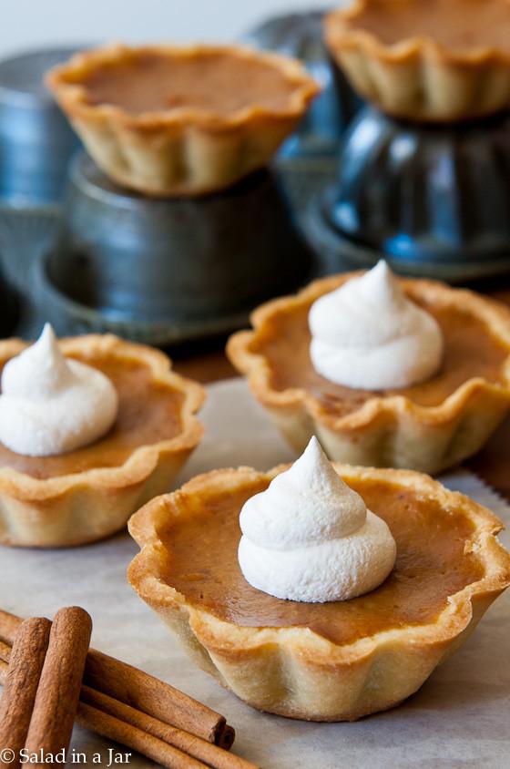 Mini Pumpkin Pie  Pumpkin Pie Mini Tarts
