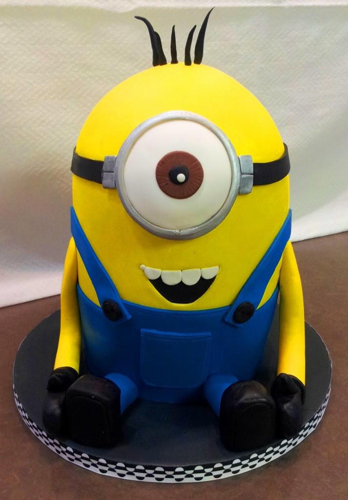 Minion Birthday Cake  Minion Cakes – Decoration Ideas