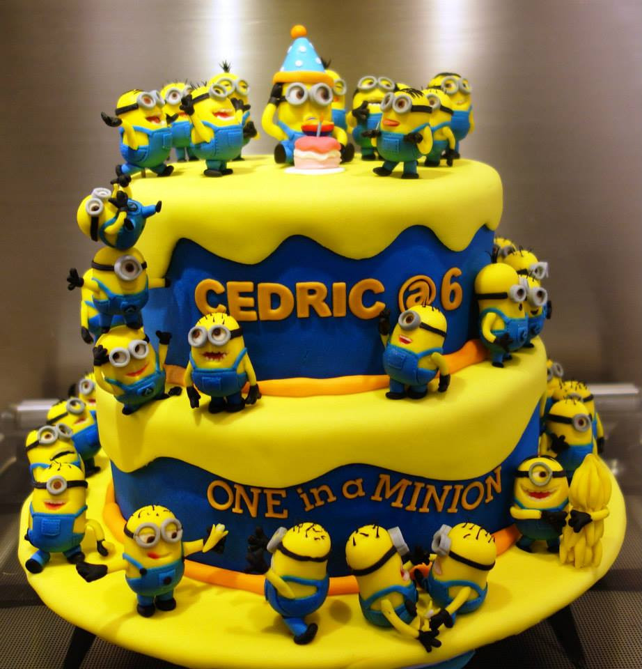 Minion Birthday Cake  Top 10 Crazy Minions Cake Ideas