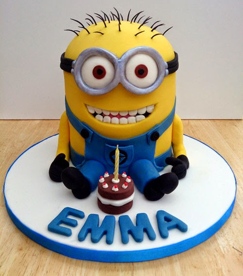 Minion Birthday Cake  Birthday Cakes That Will Blow Your Kids Away For Your
