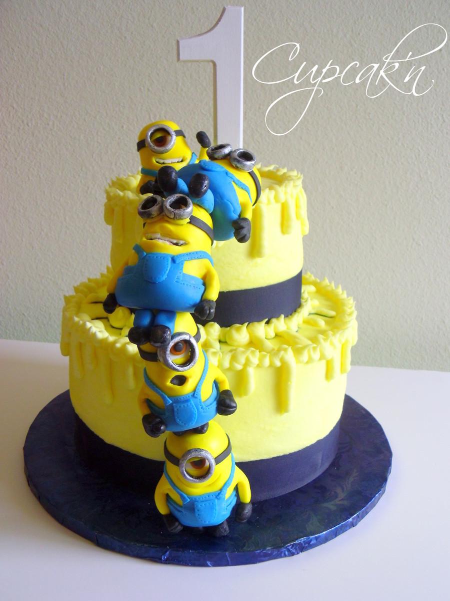 Minion Birthday Cake  10 Adorable Minion Cakes You'd Wish on Your Birthday