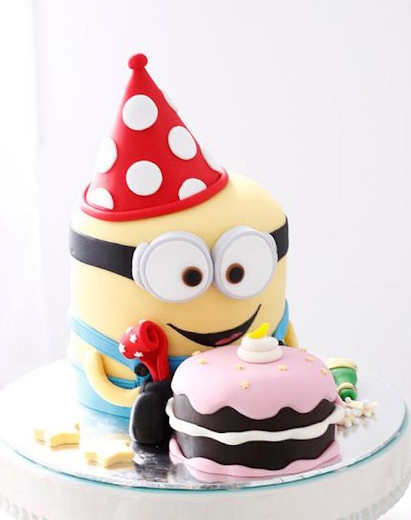 Minion Birthday Cake  Gallery Minion Happy Birthday Cake