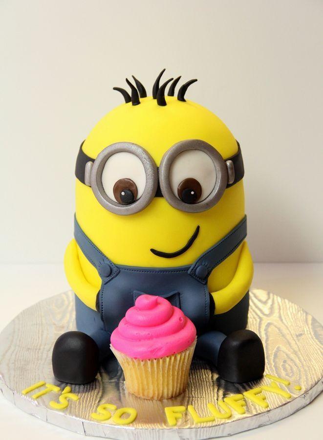 Minion Birthday Cake  Minion Birthday Cake Mackenzie Sofia