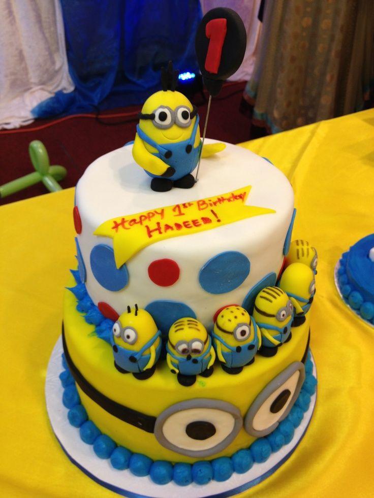 Minion Birthday Cake  Minions Birthday Cake Birthday Cake Cake Ideas by