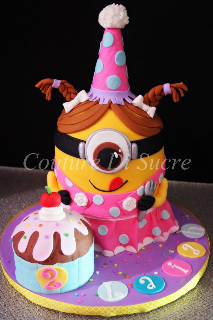 Minion Birthday Cake  Minion Cake Food